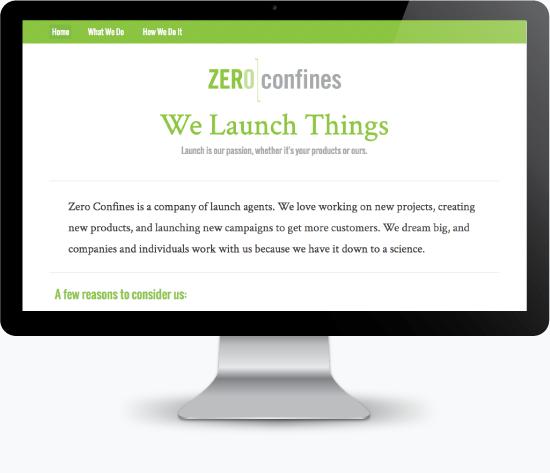 Zero Confines